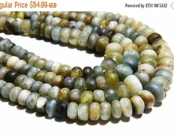 """65% OFF SALE 14"""" Full Strand Natural Cats Eye Gemstone, Matte Finished Rondelles, Cats Eye Rondelle Wholesale Price, Real Gemstone, Natural"""