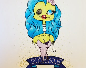 Zombie Babe (Sale)
