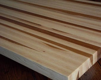 "24""x36""  Hickory Butcher Block Cutting Board.  Each one is an original.  Apx. 1 1/4""  thick. Beautiful addition to any kitchen."