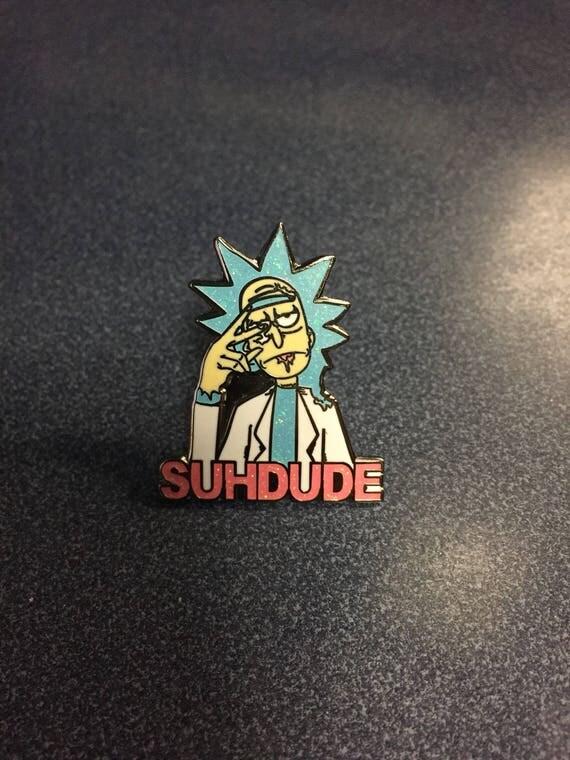 Image of PRESALE-- Rick Suh Dude t shirt Black light reflective ...