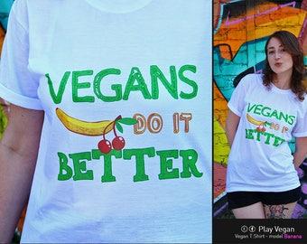 Vegan Tshirt - Banana