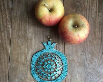 Pomegranate, Rosh Ha'Shana, Jewish gift, made in israel, Judaica