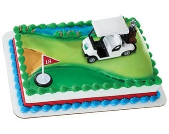 Golf Cart Cake Topper