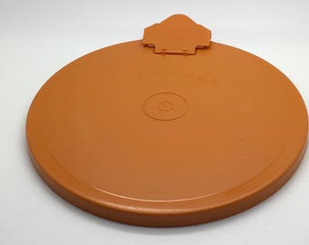 Tupperware 696 697 Mix N Stor  Seal Lid Orange Flip Spout Or Domed Cover 2605 White For Divided Dish Replacement Part  You Pick