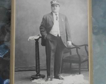 Victorian  Cabinet Photo Railroad Chicago