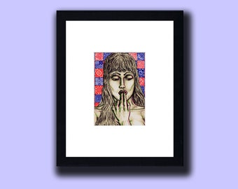 """""""Sex and Drugs"""" Erotic Pop Art Varied Edition Print [Wear 3-D Glasses]"""