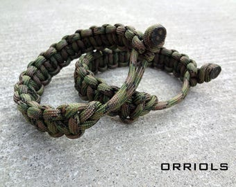 Mad Max Fury Road Tom Hardy Paracord Survival Bracelet