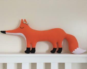 Mrs Fox cushion