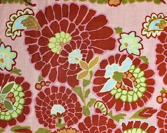 Kaffe Fassett for Rowan; GP96; Henna in Dusty Rose; 1/2 yard woven cotton fabric