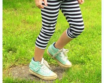 Leggings trousers for children gestreft streaky