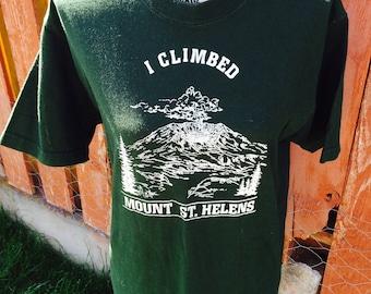90s Mount St. Helens Tee Size Medium