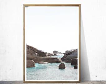 Clifton Beach Decor Ocean Print Beach Print Ocean Decor Beach Art Ocean Art Beach Photography