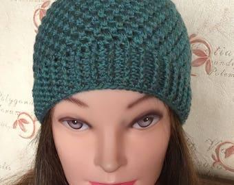 ladies hat - girl hat - winter hat - beanie hat  - pom pom hat - Mother's Day gift