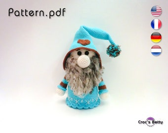 Pattern - Megno the Christmas Gnome