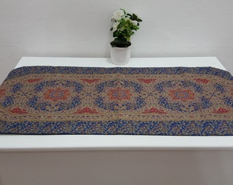Navy Colour Ceramic Designed Decorative Runner table runner bed runner