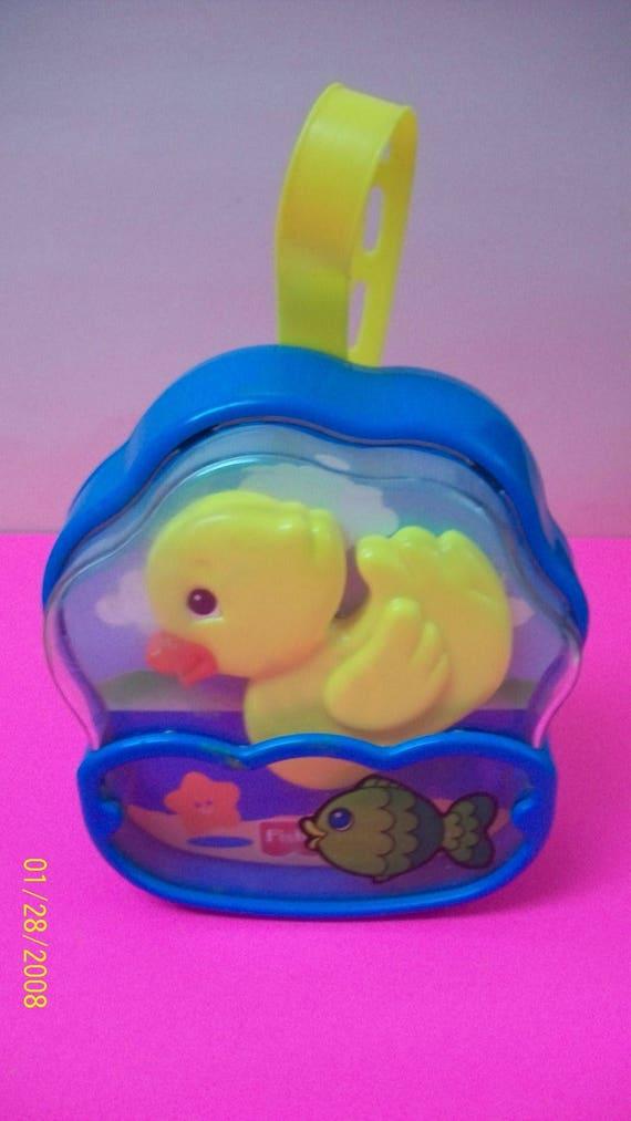 Fisher Price Crib Toys : Fisher price baby crib music and motion quacking yellow duck