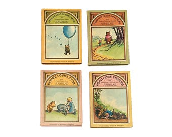 Pooh's Pot O' Honey: Pooh Hears a Buzzing Noise, Pooh & Piglet Go Hunting, Eeyore Loses a Tail, and Pooh Goes Visiting by A.A. Milne (1975)
