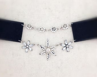 FREE With Any Purchase, silver choker, black choker, choker, choker necklace, layered necklace
