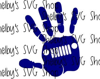 Jeep Wave - SVG