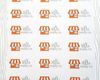 Ulta Shopping Trip Markers (Set of 24) Item #523