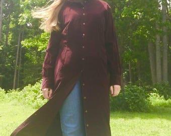Eddie Bauer Blackberry Duster/Dress