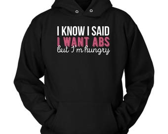 Fitness hoodie. Cute and funny gift idea