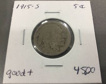 1915-S in good+ condition