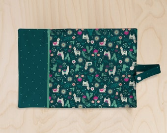 Lunchbox placemat // rollable placemat // waterproof lunchbox placemat