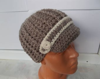 Newsboy hat, crochet hat women, women knitted hat winter, gift for her, Women's Crochet Hat, hats for women, crochet hat winter, wool winter