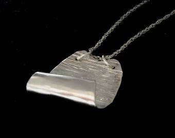 Sterling Silver SPOON PENDANT  NECKLACE    SS78