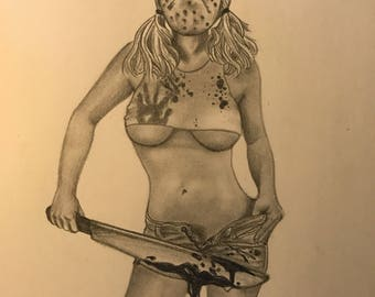 Friday the 13th PinUp