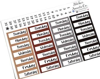 Date Covers tan, brown, grey, black