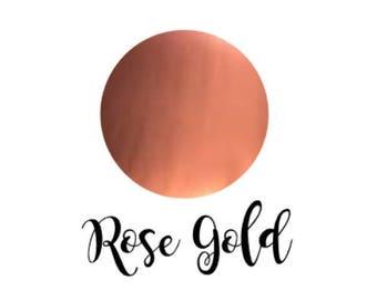 Rose Gold Permanent Adhesive Vinyl, Rose Gold Crafting Vinyl, Rose Gold Sticker Vinyl, Rose Gold Vinyl