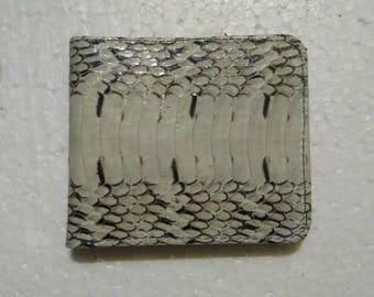 Best Price Snakeskin Leather Wallets For Men Snake Skin Wallet White