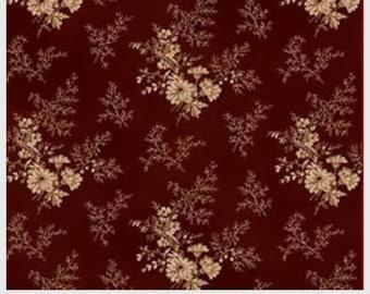 Savannah Classics, c 1865, Civil War Reproduction Cotton Fabric, Sara Morgan, Washington Street Studio, Brown, By the Yard, SCLA 482Z