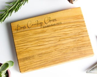 Personalized Cheese / Chopping / Antipasti Board - available in three sizes