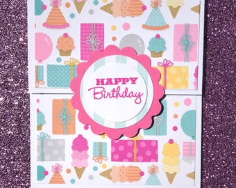 Gift Card Holder-Happy Birthday Gift Card Holder-Happy Birthday Money Holder-Gift Card Packaging-Gift Packaging