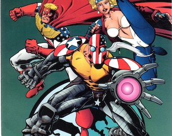 Superpatriot Liberty and Justice #2