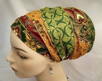 Variation rich tones cotton sinar tichel, tichels, chemo scarves, head scarves