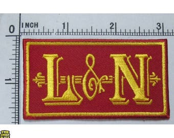 L&N Railroad Embroidered Patch Iron on or Sew on