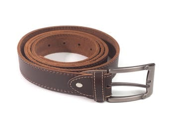 Lorenzo Handmade Italian Leather Belt