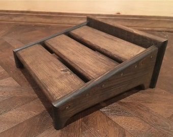 16x16 Hand-crafted pedal board