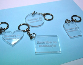 Personalized Engraved Keychain