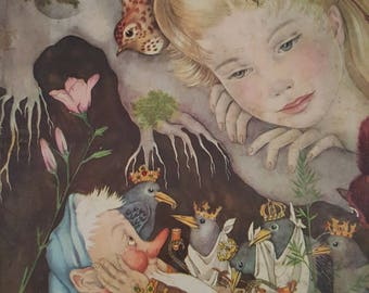 The Fairy Tale Book Deluxe Golden book 1958