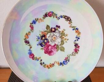 Vintage Bavarian Cake Plate