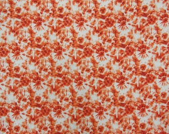"""Upholstery Fabric, Tie Dyed Print, White Fabric, Sewing Supplies, Indian Fabric, 42"""" Inch Cotton Fabric By The Yard ZBC8483B"""