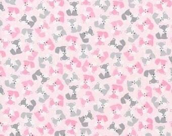 Pink Fox fabric, Robert Kaufman, Urban Minis, 100% Cotton, UK sales only