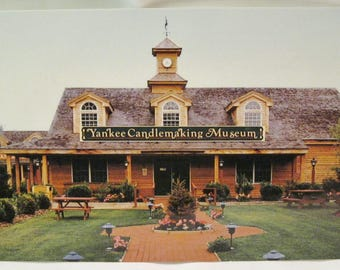 Yankee Candlemaking Museum Postcard