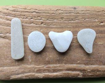 Sea glass love letters , glass love letters , love letters , love gift , beach stone love , Scottish sea glass , glass and stone letters