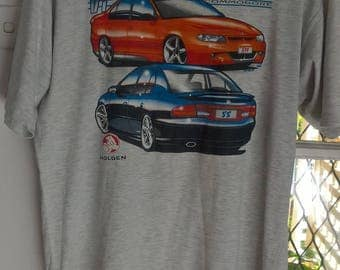 Vintage Holden Commodore VT GTS SS T shirt size L